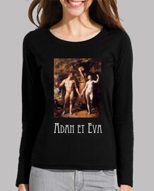 """Camisa mujer """"Adan y Eva"""""""