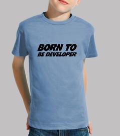 camisa nacido para ser el desarrollo