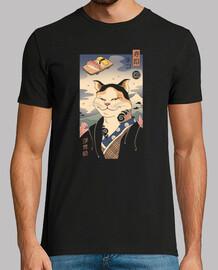 camisa nekoyo-e para hombre