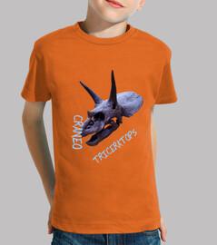 Camisa niños Craneo Triceratops