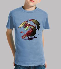 Camisa niños Dragón Aliento Fétido