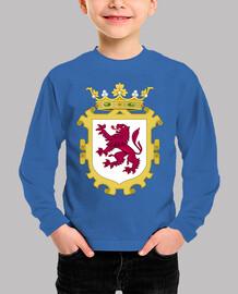 Camisa niños Escudo del Reino de León