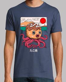 camisa octakoyaki para hombre