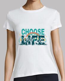 camisa para mujer de elegir la vida
