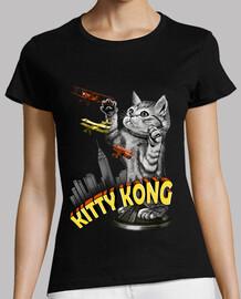 camisa para mujer del gatito kong