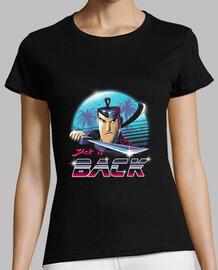 camisa para mujer samurai épica