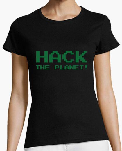 Camiseta camisa pirata informático - friki - piratería