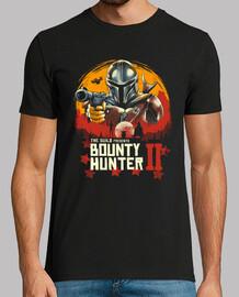 camisa roja cazarrecompensas para hombre