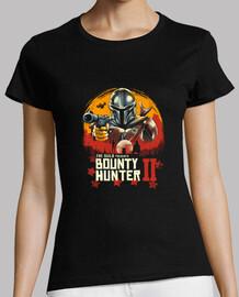 camisa roja cazarrecompensas para mujer