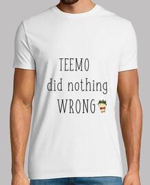 Camisa Teemo league of legends