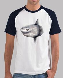 Camiset hombre luna (Mola mola)