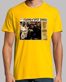 Camiseta- The island os lost souls naranja