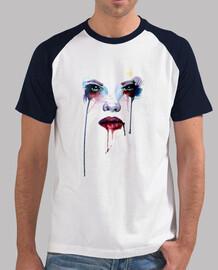 Camiseta - chica acuarela 04
