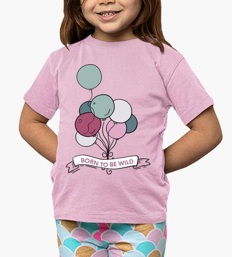 Ropa infantil Camiseta - Globos libres