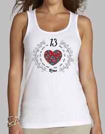 Camiseta 13 rosas