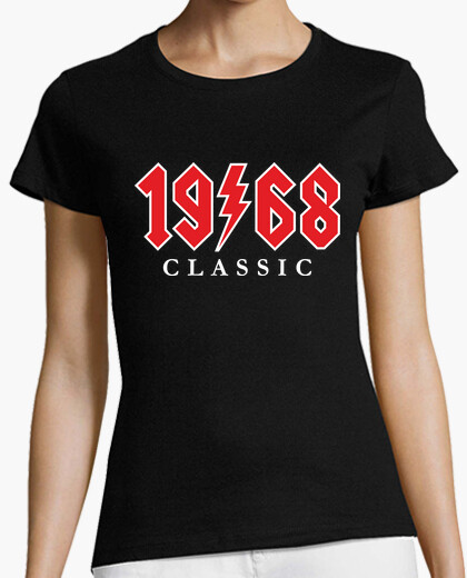 Camiseta 1968 Classic Rock Regalo 52 cumpleaños