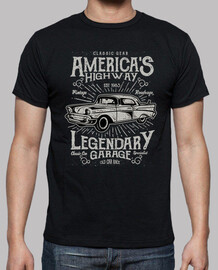 Camiseta 1983 Coches Retro Vintage 80s Classic Garage USA