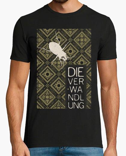 Camiseta 1. Books Collection: Kafka, The Metamorphos