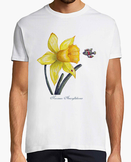 Camiseta 1. Future Botanical Studies Daffodil