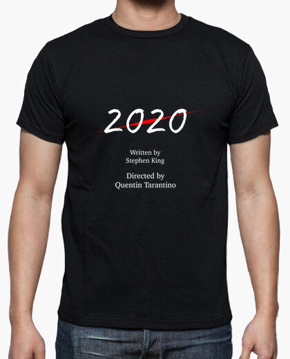 Camiseta 2020 Written by Stephen King...