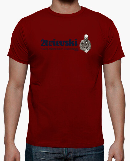 Camiseta 2toievski