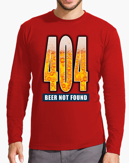 Camiseta 404 - Beer not found CP3