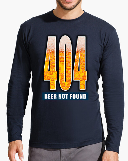 Camiseta 404 - Beer not found CP4