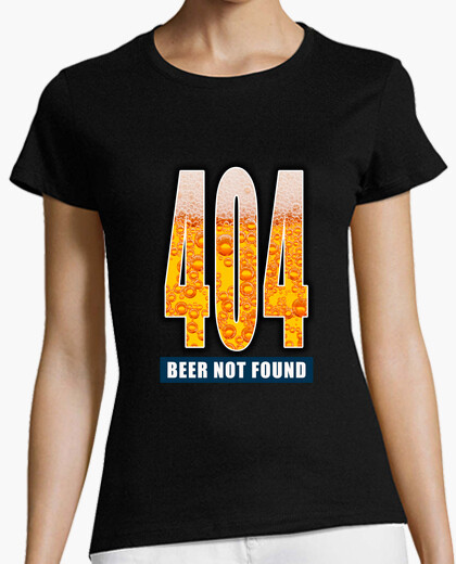 Camiseta 404 - Beer not found FG2
