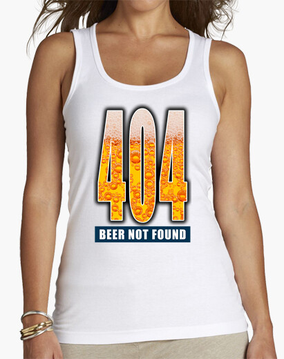 Camiseta 404 - Beer not found FS1