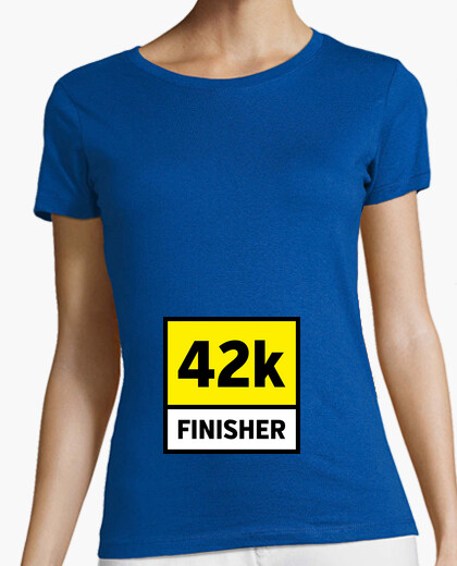 Camiseta 42k finisher dorsal