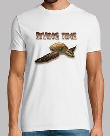 Camiseta / Diving Time Turtle