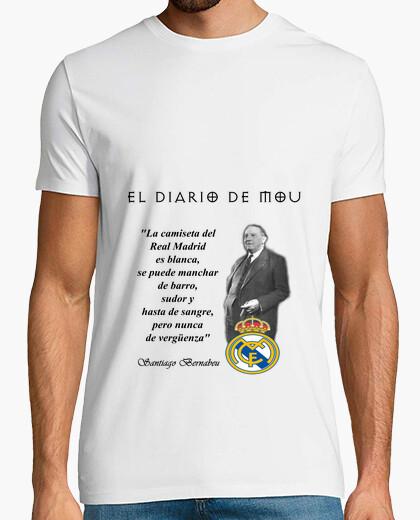 Camiseta  El Diario de Mou - Santiago Bernabeu - Modelo 2