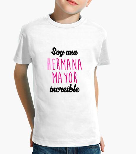 Ropa infantil Camiseta : Hermano - Hermana