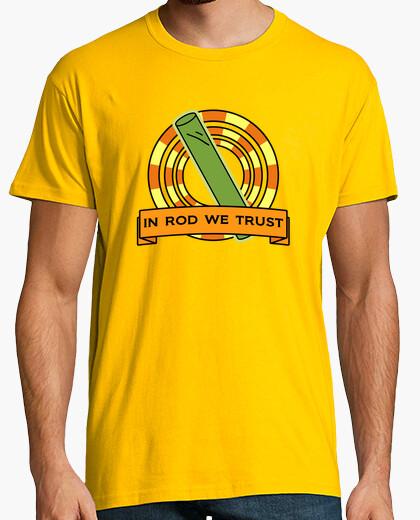 Camiseta : Inanimada barra de carbono