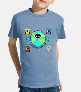 Camiseta  La Tierra- Contenedores