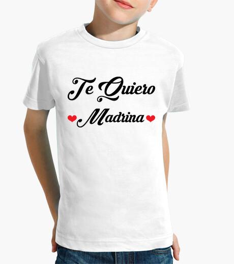 Ropa infantil Camiseta : Madrina