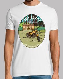 Camiseta  Moteros Bikers Garage Retro VIntage