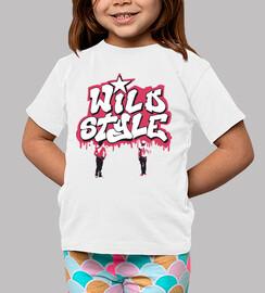Camiseta  Niño/a Wild Style B
