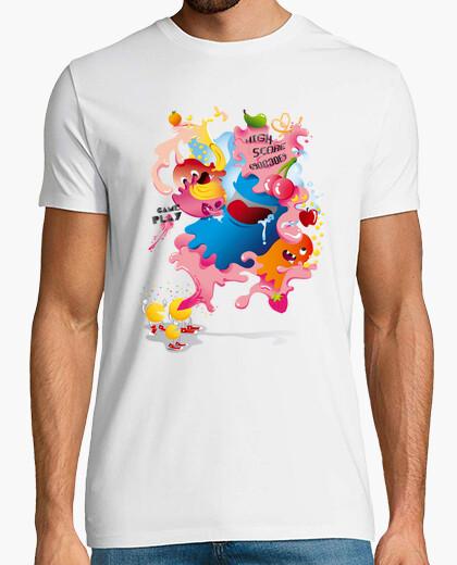 Camiseta  Pacman Videojuego Retro Gamer