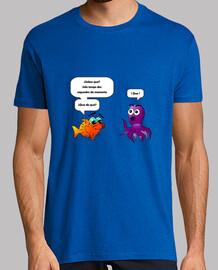 Camiseta / Pulpo y Pez Globo