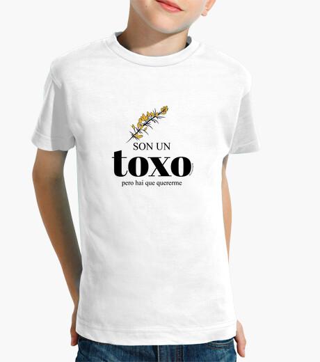 Ropa infantil Camiseta  Son un toxo, pero...