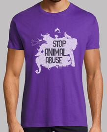 Camiseta / Stop Animal Abuse