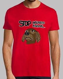 Camiseta / Stop Maltrato Animal