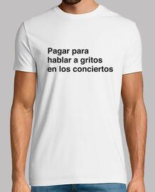 Camiseta A gritos