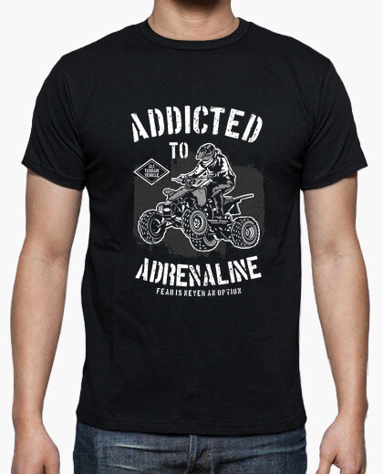 Camiseta Addicted to Adrenaline