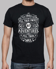 Camiseta Adventure Fill Your Soul Retro Vintage
