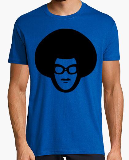 Camiseta Afro - Fiestas humor geek Freak cine TV musica