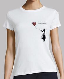 Camiseta ajustada para mujer - Bansky With Siria