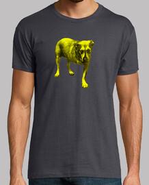 camiseta alice in chains amarillo