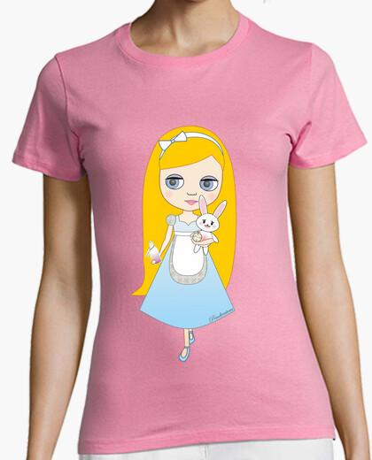 Camiseta Alice in Wonderland doll